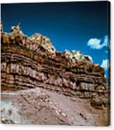 Shaping Rock Canvas Print