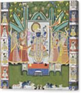Sharad Utsav - V Canvas Print