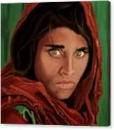 Sharbat Gula From Nat Geo Mccurry 1985 Canvas Print