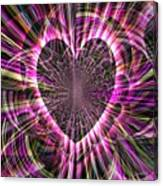 Sharing Heart With Gladness Canvas Print