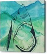 Shark Mountain  Canvas Print