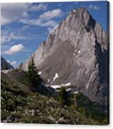 Shark Tooth Mountain Canvas Print