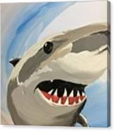Sharky Grin Canvas Print