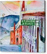 Sharon House Canvas Print