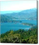 Shasta Lake Canvas Print