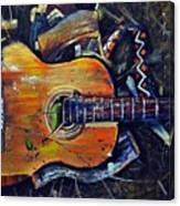 Shattered Melody Canvas Print