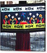 Shawl - Lost Birds Return Canvas Print