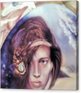 She Dreams Of... Canvas Print