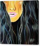 She Shines Canvas Print