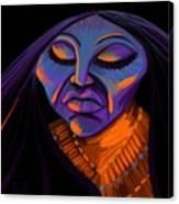 She Sleeps Canvas Print