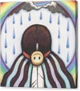 She Who Brings The Rain Canvas Print