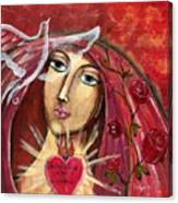 She Who Comforts Us Canvas Print