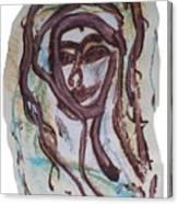 She Yes, Elle Oui, Canvas Print