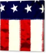 Shear Flag Canvas Print