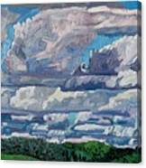 Sheared Tcu Canvas Print