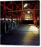 Shearing Shed From A Bygone Era Canvas Print