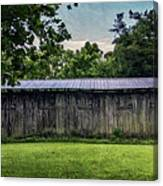 Shed At Camp Pecometh Canvas Print