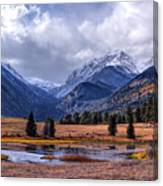 Sheep Lakes Autumn Canvas Print
