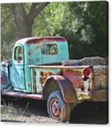 Sheepherders Truck Canvas Print