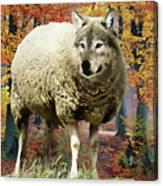 Sheep's Clothing Canvas Print