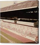 Sheffield United - Bramall Lane - John Street Stand 2 - 1970s Canvas Print