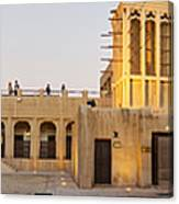Sheikh Saeed House And Museum Canvas Print