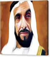 Sheikh Zayed Canvas Print