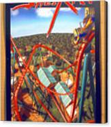 Sheikra Ride Poster 2 Canvas Print