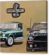 Shelby 40th Anniversary Canvas Print