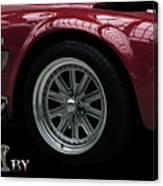 Shelby Cobra Sports Car Canvas Print