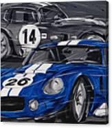 Shelby Daytona Canvas Print