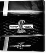 Shelby Gt 500 Super Snake Canvas Print