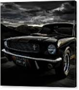 Shelby Gt350h Rent-a-racer Canvas Print