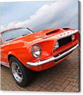 Shelby Gt500kr 1968 Canvas Print