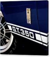 Shelby Mustang G T 350 Cobra Canvas Print