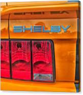 Shelby Tail Light Canvas Print