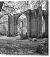 Sheldon Church Ruins Canvas Print