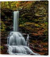 Sheldon Reynolds Falls Canvas Print