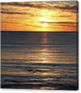 Shell Beach Sunset Canvas Print
