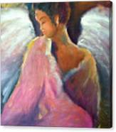 Shelley's Angel Canvas Print