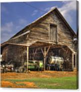 Shelter From The Storm Wrayswood Barn Canvas Print