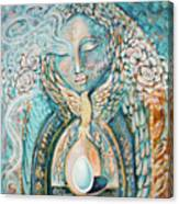 Shelter Of The Sacred Canvas Print