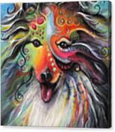 Sheltie  Canvas Print