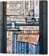 Shelved - 5 Canvas Print