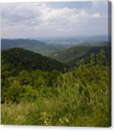 Shenandoah National Park - Skyline Drive Canvas Print