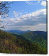 Shenandoah Skies Canvas Print