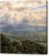 Shenandoah Valley - Storm Rolling In Canvas Print