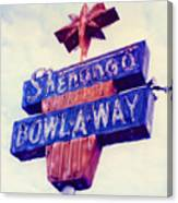 Shenango Bowl-a-way Canvas Print