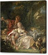 Shepherd And Shepherdess Canvas Print