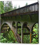Shepperds Dell Bridge Canvas Print